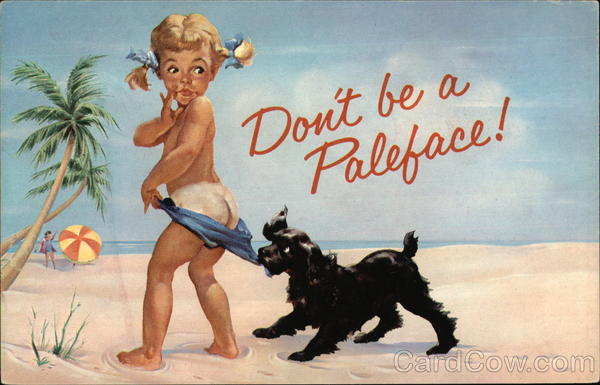 Coppertone - Don't be a Paleface!