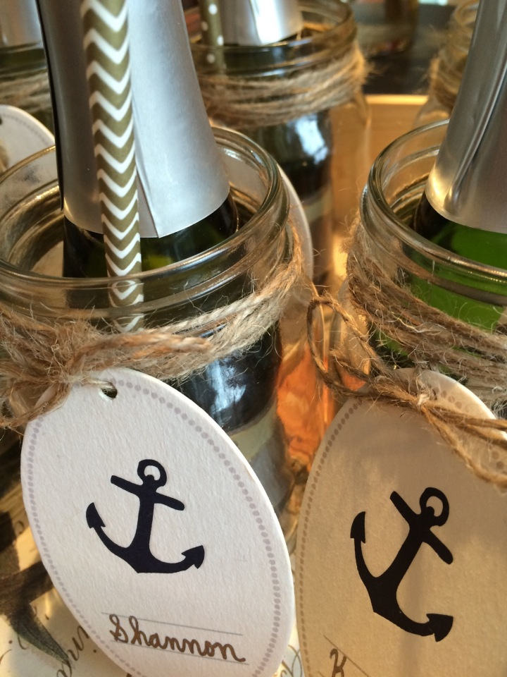 Champagne Party Favors