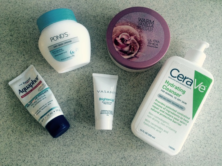 Favorite Products for Winter Dry Skin