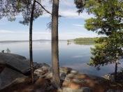 Peaceful lake.