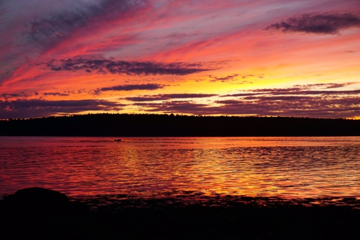 Friendship, Maine Sunset